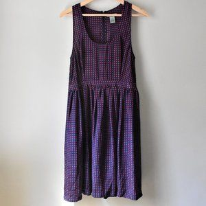 Maple 100% Silk Fit and Flare Dress